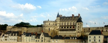 Amboise from the bridge over the Loire