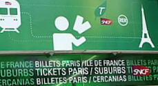 ticket ofice sign CDG airport