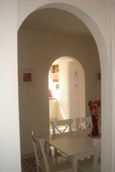arches in Les Balcons holiday home in Le Grand-Pressigny France